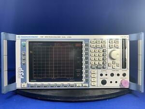 Rohde Schwarz Fsp3 3 Ghz Spectrum Analyzer With Option B25