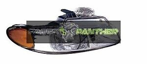 For 2000 Passenger Side Chrysler Town Country Front Headlight Assembly