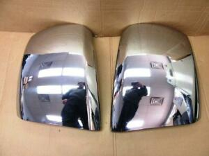 07 13 Silverado 1500 Right Rh Left Lh Side Chrome Front Bumper End Cap No Fog