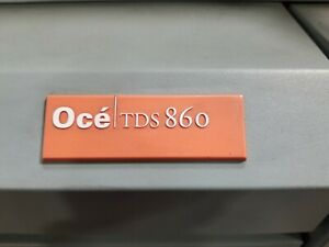 Oce Wide Format Printers Parts Only models 1 Tds800 2 Tds860s Priced Each