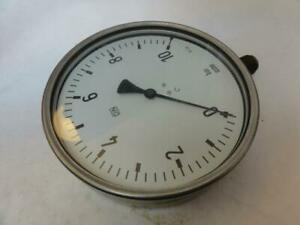 166449 Old stock Wika Mdl unkn 166449 Pressure Gauge 0 10 Bar