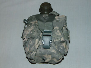 US MILITARY ISSUE 1 QUART CANTEEN WITH ACU COVER EXCELLENT 3 $14.95
