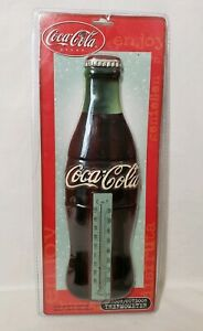 Acurite Coca Cola Wall Thermometer Bottle Shaped Sign 11