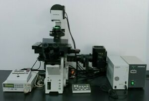Olympus Microscope Ix81 With Dic And Motorized Stage