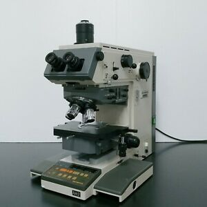 Olympus Microscope Vanox t Ah 2 Reflected Light With Dic Metallurgical