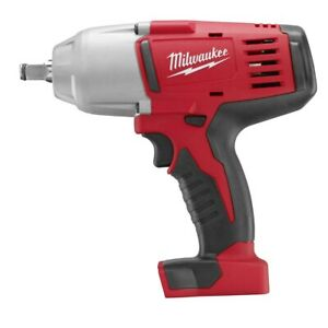 Milwaukee M18 Cordless 1 2 In High Torque Impact Wrench With Friction Ring Bar