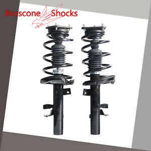 For Ford Focus 2 0l Automatic Transmission 2012 2013 Front Pair Complete Shocks