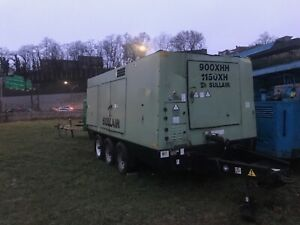 2009 Sullair 900 1150xhdtq ca3 1150 Cfm Air Compressor With Cat C15 Engine