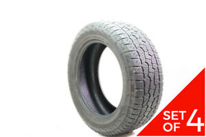 Set Of 4 Used 275 55r20 Hankook Dynapro Atm 113t 7 5 8 32