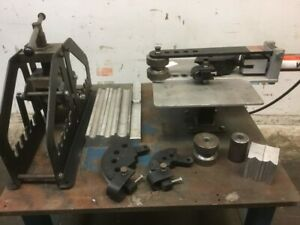 Pro Tools Hydraulic Tube And Pipe Bender And Manual Tube Pipe Roll Bender