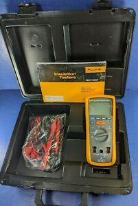 New Fluke 1507 Insulation Tester Hard Case Accessories Screen Protector