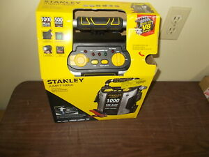 Battery Charger Jump Starter Emergency Power Car Stanley Jumpit 1000a Peak Amp