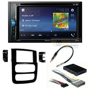 Pioneer Double Din Stereo Install Dash Kit W Amp Harness For 2003 Dodge Ram 1500