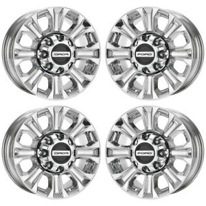 18 Ford F250 F350 Bright Pvd Chrome Wheels Rims Factory Oem 10097 Exchange