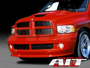 For 2002 2005 Dodge Ram 1500 Srt 1 Style Fiberglass Front Bumper By Ait Racing