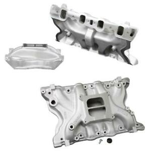 Weiand Action plus Intake Manifold Ford Modified 351m 400 Fits Ford 2v Heads