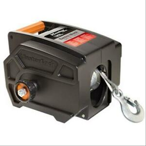 Master Lock Winch Electric Portable 2000 Lb Worm Gear Hand Held Remote Each