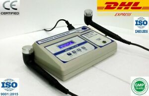 Ultrasonic Ultrasound Therapy 1 3 Mhz Physical Pain Relief Therapy Two Head Ea