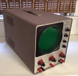 Vintage Vacuum Tube Oscilloscope From Devry Technical Institute belle