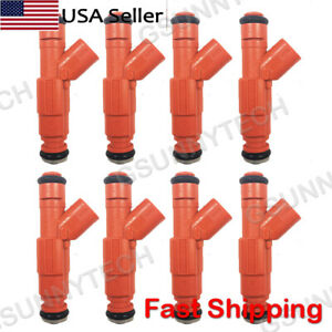 8pcs Fuel Injectors Fit For 03 04 Ford Crown Victoria Lincoln Town Car 4 6l V8