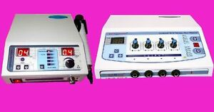 Combo Portable Electrotherapy Machine 1 Mhz Ultrasound Therapy Fgkj