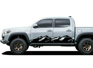 Decal Sticker Side Stripes For Toyota Tacoma 2004 2015 2020 Trd Lift Arm Fuel V6