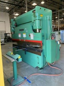 1997 Cincinnati 135cbii 135 Ton Hydraulic Cnc Press Brake 10 Bed