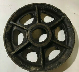 18 Diameter Young Cast Steel 1 Wire Rope Sheaves steel Cable Pulleys Id 506