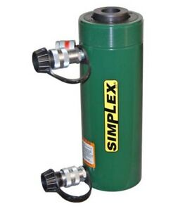Rcd307a Simplex 30 Ton 7 Stroke Double Acting Hollow Cylinder New