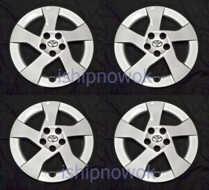 Set Of Four 4 15 Hubcap Rim Wheel Cover For 2010 2015 Prius Wheelcover