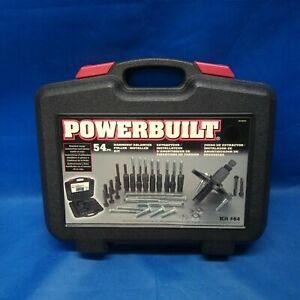 Powerbuilt 54pc Harmonic Balancer Puller pulley Installer Kit 64 Model 648994