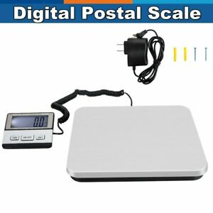 440lb 200kg 50g Portable Lcd Digital Shipping Postal Scale Weigh Black Us