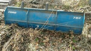 Ford Series 702 New Holland Dozer Blade Snowplow Push Dirt Nos New Compact