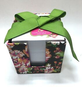 Nwt Vera Bradley Retired english Rose Take Note Cube Lose Notes