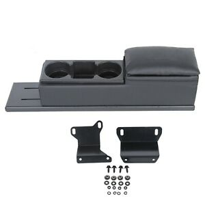 For 2006 2020 Dodge Charger Police Center Mini Cup Holder Console Upholstered