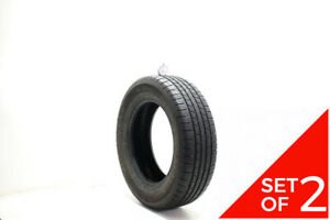 Set Of 2 Used 195 65r15 Goodyear Viva 3 All Season 91t 6 5 7 5 32