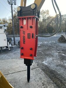 Aya 500m Hydraulic Hammer Breaker Cat 312 312 M c With Pins Included 2000ftlbs