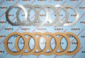 1957 1963 Buick Dynaflow Trans Clutch Friction Steels Plates Complete Kit