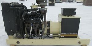 150 Kw Kohler Gm Natural Gas Or Propane Generator Genset 453 Hrs 2008