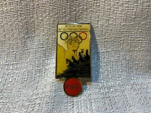 1936 Berlin Germany Olympic Games XIth Olympiad Games Coca Cola Coke Lapel Pin