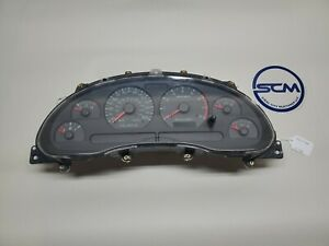 1999 2004 Ford Mustang Gt 4 6l Instrument Gauge Cluster Speedometer 00 01 02 03