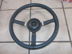 1987 1995 Jeep Steering Wheel Cherokee Wrangler Leather Xj Yj Cj