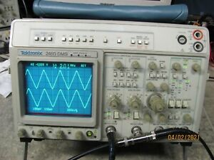 Tektronix 2465dms 300mhz 4 Channel Oscilloscope In Fine Condition