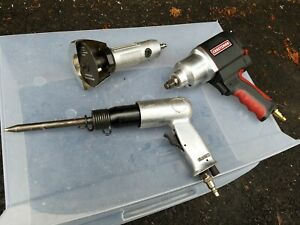 Craftsman 1 2 Impact Wrench Pneumatic Air Hammer Gun Mini Hand Grinder Bundle
