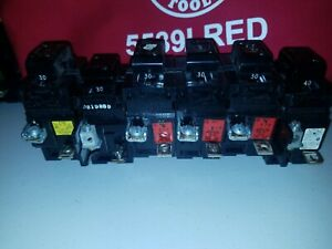 30 Amp Pushmatic Breaker Lot P230 And One 40