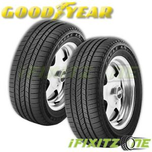2 Goodyear Eagle Ls2 P205 70r16 96t S2 All season M s Rated Grand Touring Tires