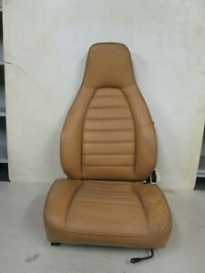 Porsche 928 Driver Side Front Seat Bucket Leather