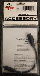 Vexilar ADP021 AlumaDucer 7 Pin Adapter Cable for Bottom Line Fish Finders NEW
