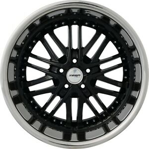 4 G23 Amaya 20x10 Inch Black Rims Fits Dodge Avenger Sxt Rt 2008 2010