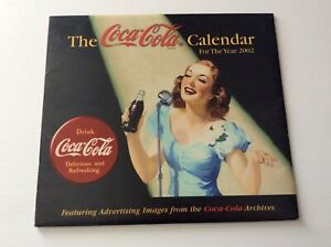 "The Coca-Cola Calendar ""The Year 2002"" with Original Protective Envelope"